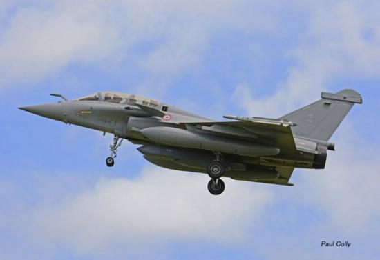 Configuration peu courante pour l'Armée de l'Air, le SCALP au point central