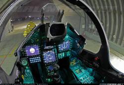 Cockpit Mirage 2000-5