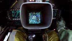 Cockpit place arrière Mirage 2000N