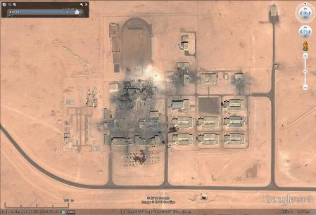 Al jufra munitions apres 13 10 2011