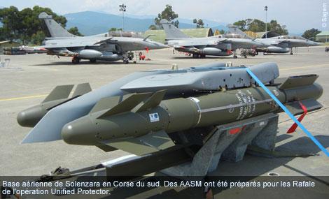 AASM sur éjecteur tri-bombes
