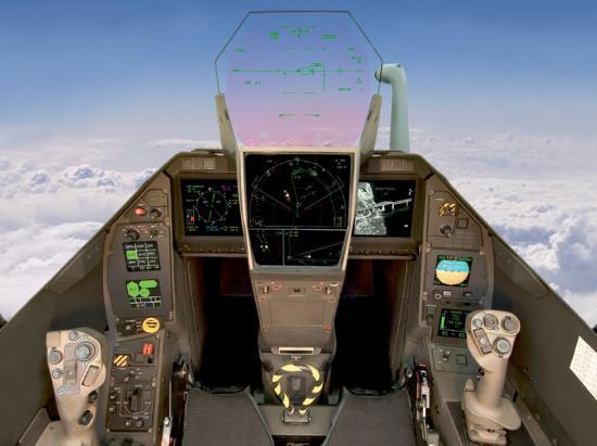 Cockpit du Rafale