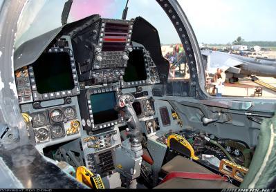 F-15E place avant