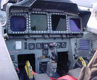 F-15E place arrière