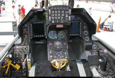 Cockpit F-16C