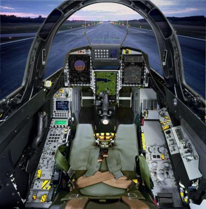 Cockpit Gripen C