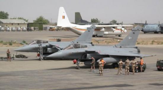 Rafale à N'Djamena